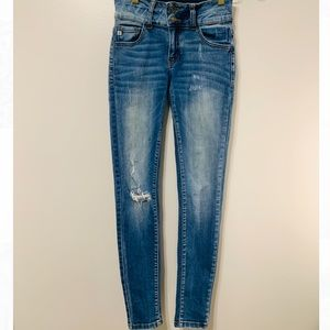 KanCan - Distressed Skinny Jeans Size 24